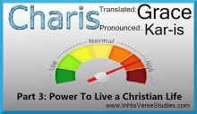 Grace #3: Power To Live Like Christ