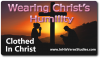 Wearing Christ's Humility